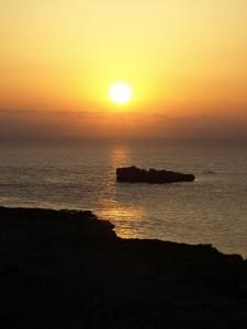 Sonnenaufgang in Karpaz