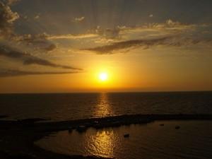 Sonnenuntergang in Akamas