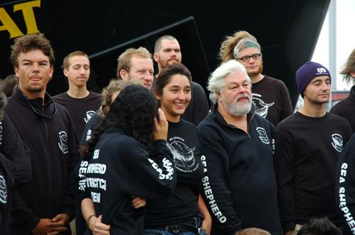 Sea Shepherd Aktivisten