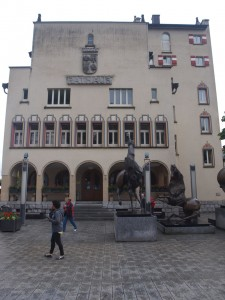 The town hall in Vaduz