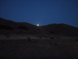 Moon in Las Negras