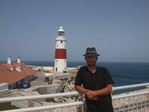 Me at the lighthouse