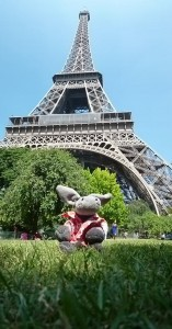 Hugo and the Eifel Tower