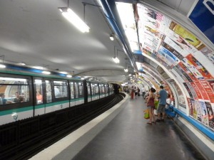 Subway in Paris