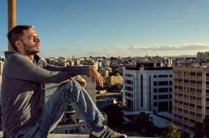 Relaxen über den Dächern von Nikosia